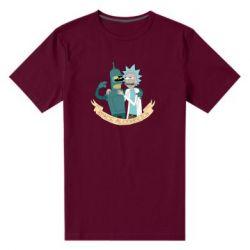 Чоловіча стрейчева футболка Space alcoholics