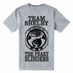 Чоловіча стрейчева футболка Team Shelby the Peaky Blinders