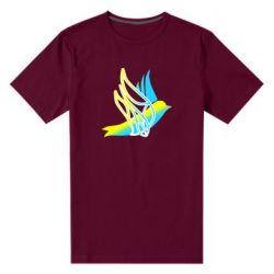 Чоловіча стрейчева футболка Україна Ластівка