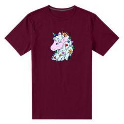 Чоловіча стрейчева футболка Unicorn Princess