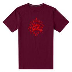 Чоловіча стрейчева футболка We wish you a