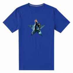 Чоловіча стрейчева футболка Winter Soldier Star