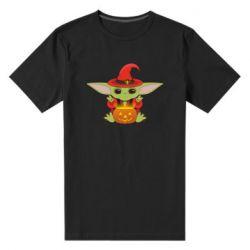 Чоловіча стрейчева футболка Yoda conjures