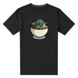 Чоловіча стрейчева футболка Йода