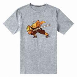Чоловіча стрейчева футболка Zenitsu Demon Slayer