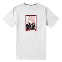Чоловіча стрейчева футболка Zero Two Modern Style