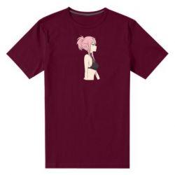 Мужская стрейчевая футболка Zero Two