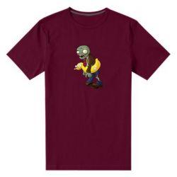 Чоловіча стрейчева футболка Zombie with a duck