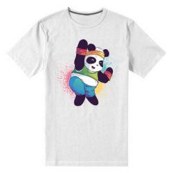 Чоловіча стрейчева футболка Zumba Panda