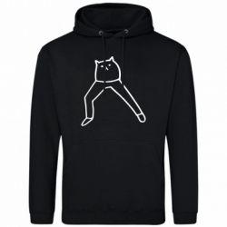 Чоловіча толстовка Cat in pants