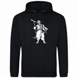 Мужская толстовка Cossack with a gun