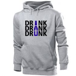 Мужская толстовка Drink Drank Drunk