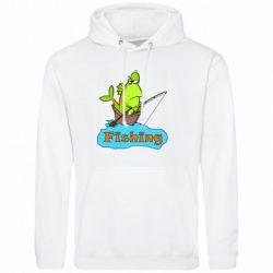 Мужская толстовка Fish Fishing