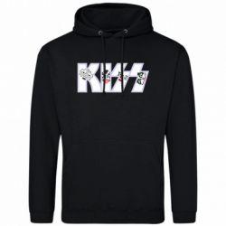 Чоловіча толстовка Kiss the music band