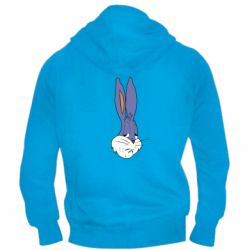 Чоловіча толстовка на блискавці Bugs Bunny Meme Face