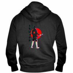 Чоловіча толстовка на блискавці Itachi in modern clothes