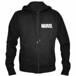 Мужская толстовка на молнии Marvel logo and vine