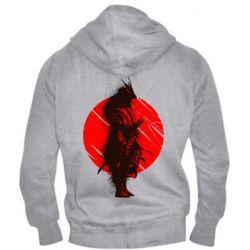 Чоловіча толстовка на блискавці Samurai spray