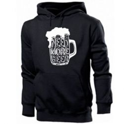 Чоловіча толстовка Need more beer