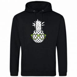 Мужская толстовка Pineapple with glasses