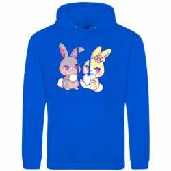 Чоловіча толстовка Rabbits In Love