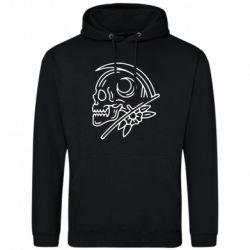 Чоловіча толстовка Skull with scythe