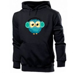 Мужская толстовка Winter owl
