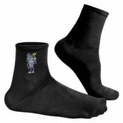 Чоловічі шкарпетки Bender and the heads of robots