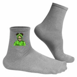 Чоловічі шкарпетки Billie Eilish green style