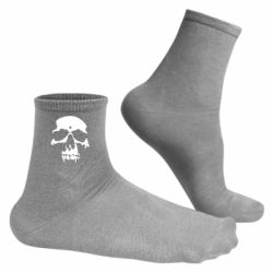 Мужские носки Череп