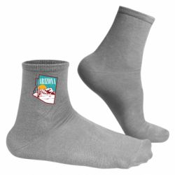 Чоловічі шкарпетки Desert and cacti