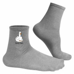 Чоловічі шкарпетки Duck you
