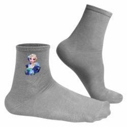 Чоловічі шкарпетки Elsa and roses