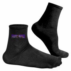 Чоловічі шкарпетки Fortnite logo and image
