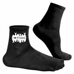 Чоловічі шкарпетки I Love Fishing