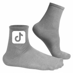 Чоловічі шкарпетки Иконка тик Ток