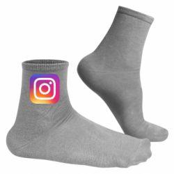 Чоловічі шкарпетки Instagram Logo Gradient