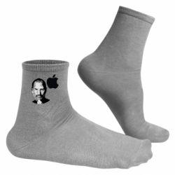 Чоловічі шкарпетки Jobs art
