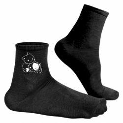 Чоловічі шкарпетки кошенята