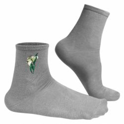 Чоловічі шкарпетки Lily flower