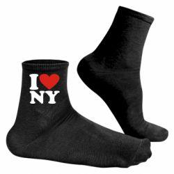 Чоловічі шкарпетки Люблю Нью Йорк