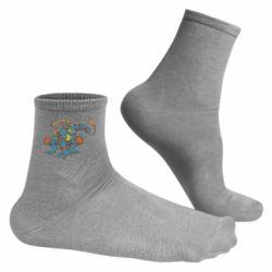 Чоловічі шкарпетки Мікеланджело