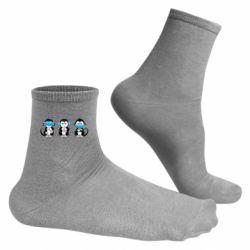 Чоловічі шкарпетки Monkeys in medical masks