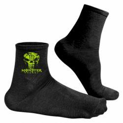 Чоловічі шкарпетки Monster Energy Череп