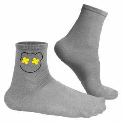 Мужские носки мордочка