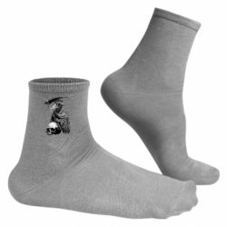 Чоловічі шкарпетки Plague Doctor graphic arts