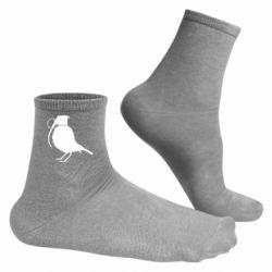 Мужские носки Птичка с гранатой