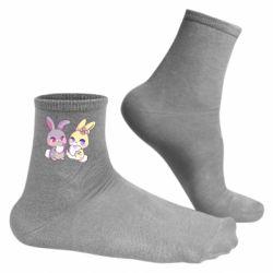 Чоловічі шкарпетки Rabbits In Love