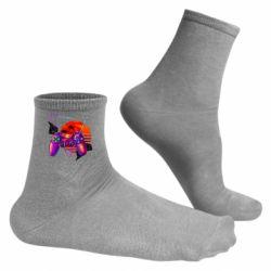 Чоловічі шкарпетки Retro wave