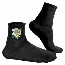 Чоловічі шкарпетки Rick and Morty voodoo doll